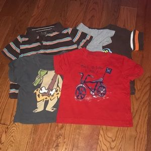Boys 12 Month T-shirt Lot